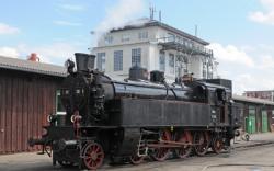 BR 77.28 im ÖGEG Eisenbahnmuseum Ampflwang